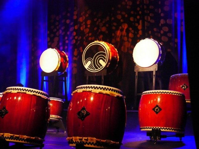 Wadaiko drums