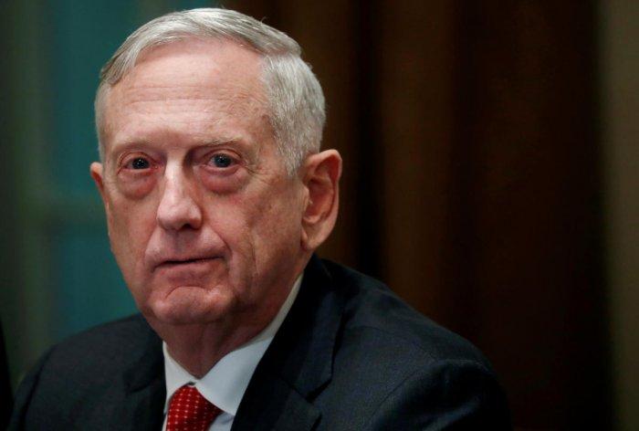 U.S. Defense Secretary James Mattis. (REUTERS File Photo)