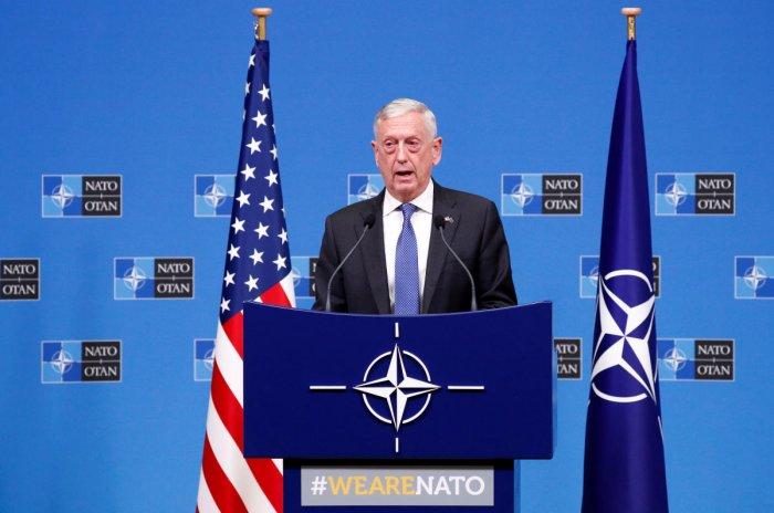 U.S. Secretary of Defense James Mattis. (REUTERS File Photo)