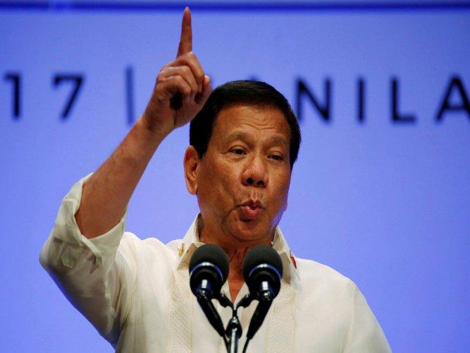 Philippine President Rodrigo Duterte. (AP/PTI File Photo)