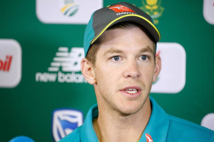 THAT'S ENOUGH! Australia's captain Tim Paine said it's time to stop talking about the ball tampering scandal and focus on the Test series against India. AFP File Photo