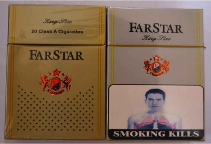 Chinese cigarettes. (Photo credit: Mizoram Tobacco Control Cell)