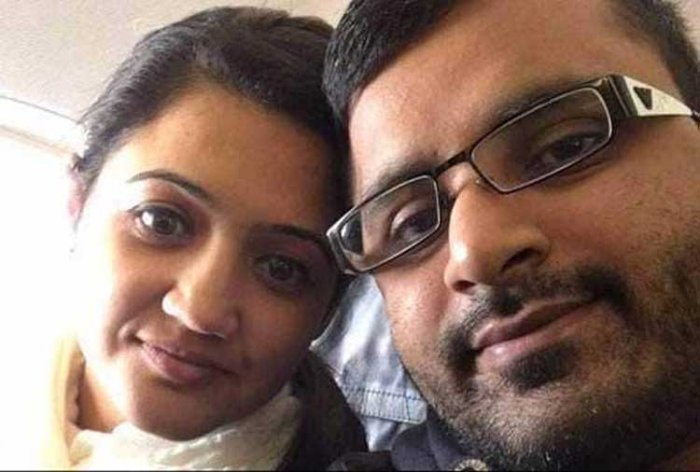 Mitesh Patel, 37, was told that he must serve a minimum term of 30 years behind bars before being considered for parole over the murder of Jessica Patel, who was found dead at the couple's home in Middlesborough, northern England, in May. (Image: Facebook)