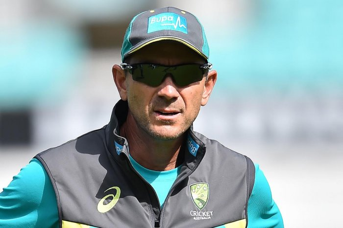 Australia's coach Justin Langer said his team has lots to prove in the Test series against India. AFP File Photo