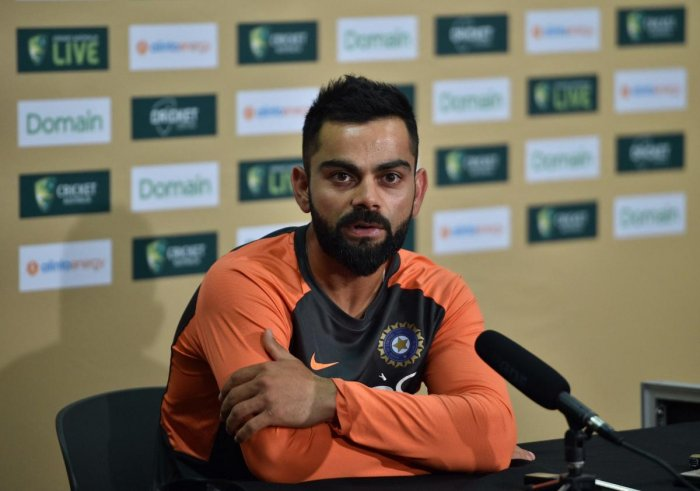 CONFIDENT: Indian captain Virat Kohli said his team's batsmen must utilise the familiarity with the Australian conditions to good effect. AFP