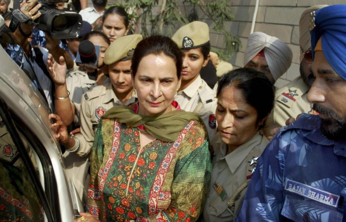 Navjot Kaur Sidhu, wife of Punjab minister Navjot Singh Sidhu. File photo