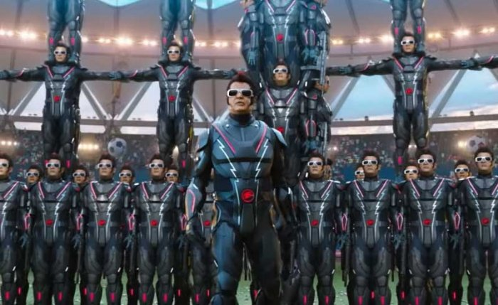 The sequel of Enthiran, 2.0, is programmed with a flawed algorithm. Forget sci-fi, the theme has nothing to do with science at all. (Screengrab)
