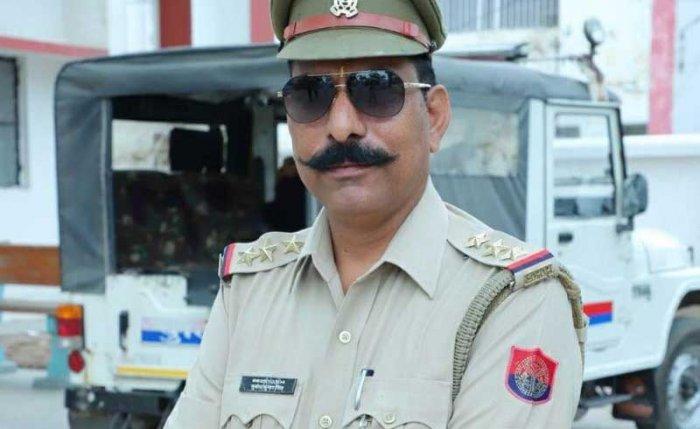 Inspector Subodh Kumar Singh. File photo
