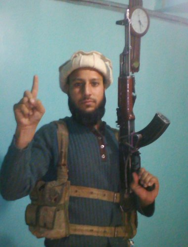 Reyaz Ahmad, a wanted Hizbul Mujahideen terrorist, who was luring youths into militancy, was arrested on Sunday in Kishtwar district of Jammu and Kashmir, a senior police officer said. (Image courtesy Twitter)