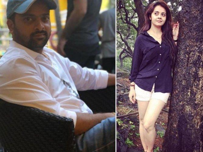 Sachin Pawar and Devoleena Bhattacharya