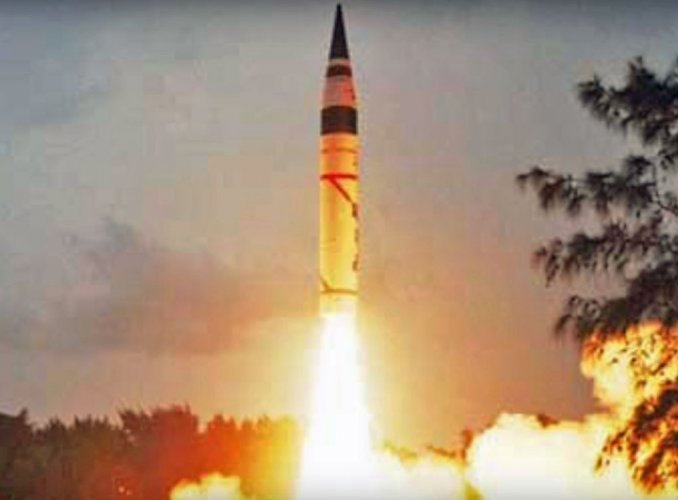 This is the seventh trial of the indigenously-developed surface-to-surface missile, defence sources said.