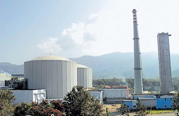 KGS located in the sylvan surroundings of the Western Ghats at Kaiga in Uttara Kannada district of Karnataka is a cluster of four indigenously developed Pressurized Heavy Water Reactors of 220 MW each. (DH File Photo)