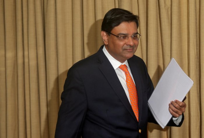 The Reserve Bank of India (RBI) Governor Urjit Patel arrives to attend a news conference after a monetary policy review in Mumbai, India, December 5, 2018. REUTERS/Francis Mascarenhas