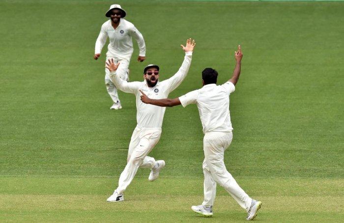 भारत 31 रन टेस्ट जीत