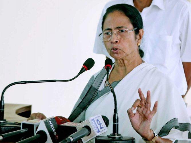 Trinamool Congress supremo and West Bengal Chief Minister Mamata Banerjee. (PTI file photo)