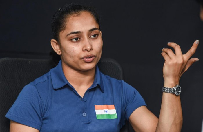 LOOKING AHEAD Dipa Karmakar feels the tough phase is behind her as she prepares for Olympics qualification.