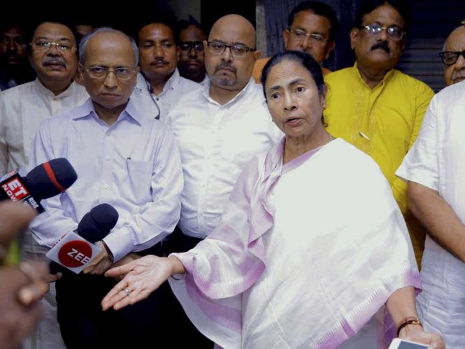 """Within two days of Chief Minister Mamata Banerjee meeting Congress president Rahul Gandhi at the meeting of Opposition leaders in Delhi, Bengal Congress leaders, including AICC in-charge of Bengal Gaurav Gogoi, slammed the chief minister for her """"double standards"""" in relation to the Congress."""