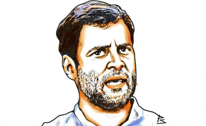 Rahul Gandhi. (DH Illustration)