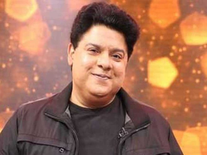 Director Sajid Khan. (Image courtesy Twitter)