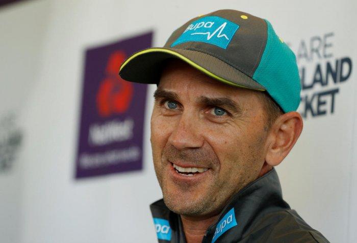 Australian coach Justin Langer. Reuters File Photo
