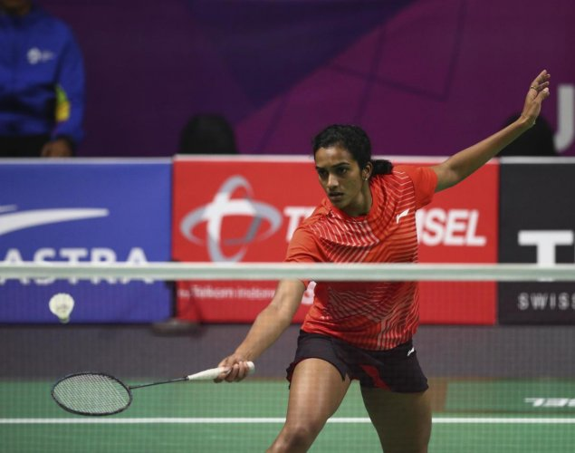 Sindhu, who had finished runner-up at the last edition in Dubai, dished out a superb game, mixed with patience and aggression, to defeat the Japanese 24-22 21-15. (Reuters file photo)