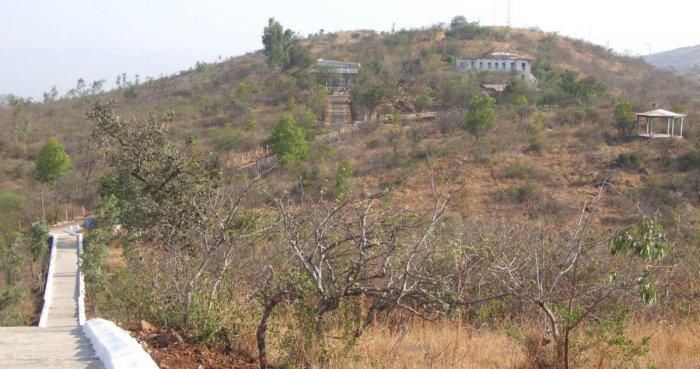 The Jogimatti Hill station near Chitradurga. DH File Photo