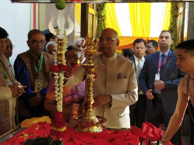 Kovind is in Myanmar to continue India's high level bilateral engagements under the rubric of the 'Act East' and the 'Neighbourhood First' policies. (Source: Twitter/MEA Spokesperson)