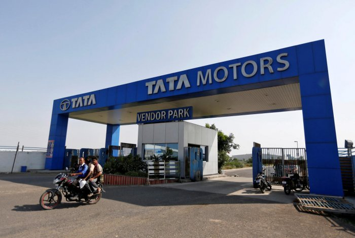 Tata Motors reported a net profit of Rs 3,199.93 crore in the April-June quarter of 2017-18.