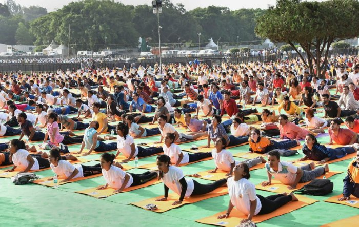 DH explores other types of yoga that is beneficial to the body and mind. PTI Photo