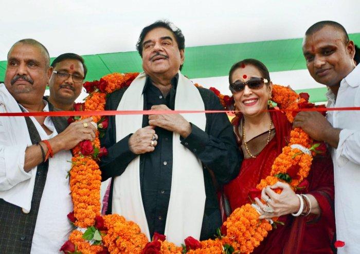 Shatrughan Sinha. PTI