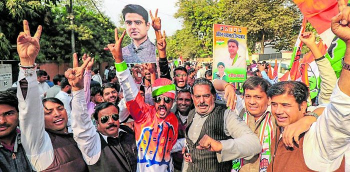 Sachin Pilot defeated Khan with a margin of 54,179 votes in the Muslim-dominated seat. PTI Photo