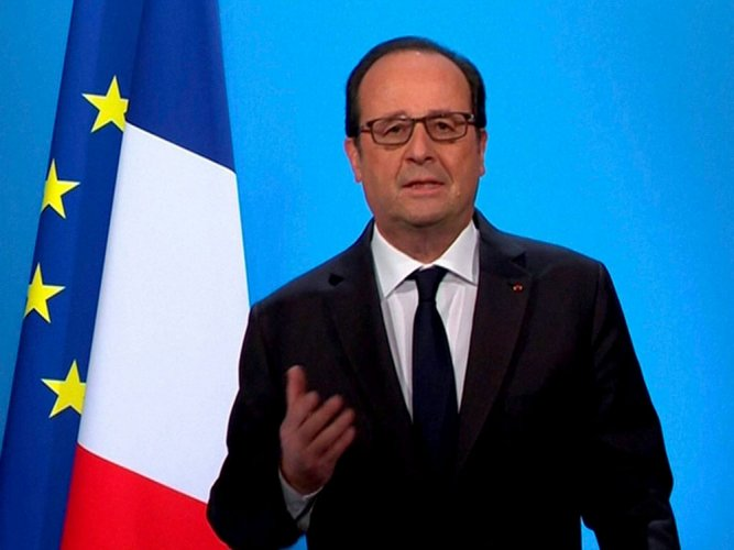 PTI file photo. NDTV reported on Saturday that Hollande's office said he stood by his comments.