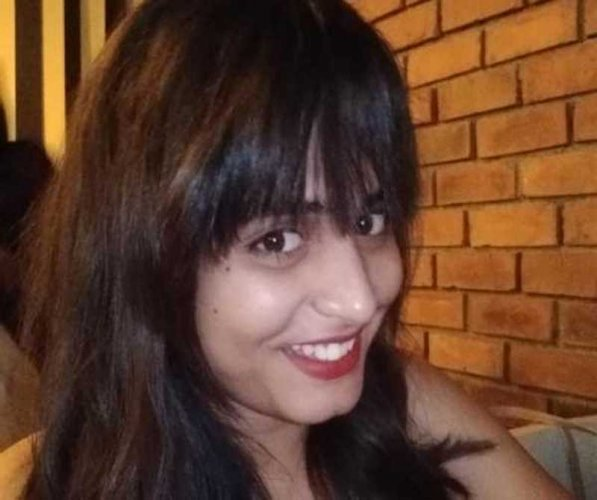 Radhika Kaushik, who hailed from Rajasthan, was in her house in the Antrikh Forest Apartments in Sector 77 with a colleague when the incident occurred at around 3.30 AM, police said. Image courtesy Twitter
