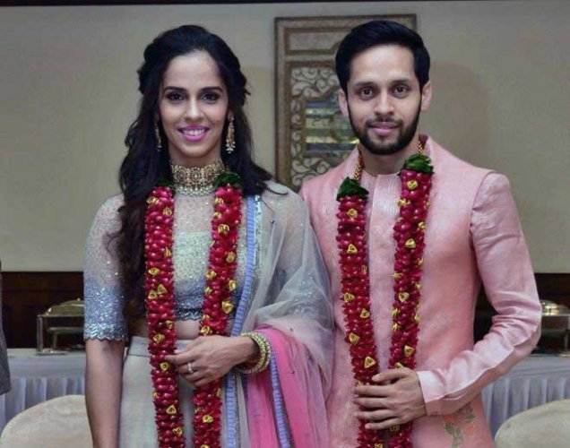 Nehwal confirmed her wedding with the 57th-ranked Kashyap. Image courtesy Twitter