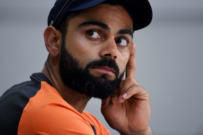India's captain Virat Kohli. AFP