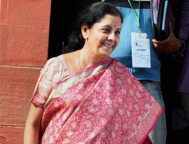 Defence Minister Nirmala Sitharaman, PTI file photo