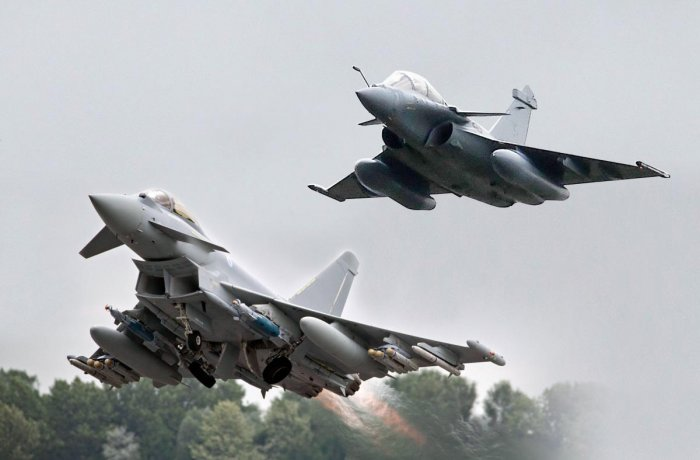 The Congress has alleged that the fresh deal for Rafale fighter jets was inked by the Narendra Modi dispensation at a cost much higher than what was negotiated by the previous government led by it. File photo