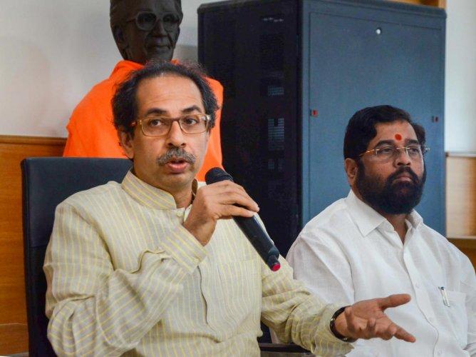 Shiv Sena chief Uddhav Thackeray. PTI/FILE