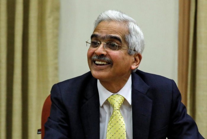 The newly appointed Reserve Bank of India (RBI) governor Shaktikanta Das. File photo