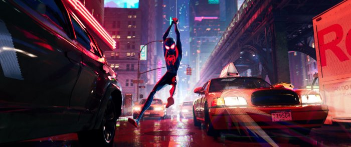 Latest Spider-Man film is an animation feature.