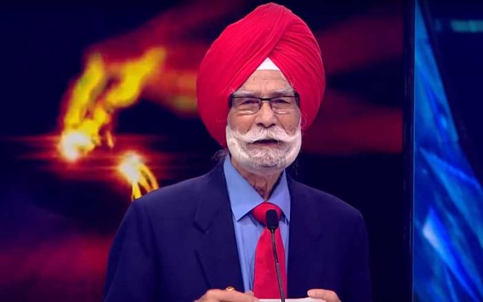 Balbir Singh. Videograb.