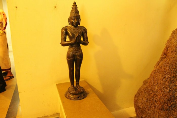 The two statues are believed to be part of a total of 66 statues that were donated to the temple during the regime of Raja Raja Chola I.