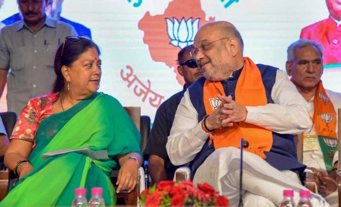 "The parties -- CPI(M), CPI, Samajwadi Party, JD(S), CPI(ML), RLD and Marxist-Communist Party of India (MCPI) -- have formed 'Rajasthan Democratic Front' with a ""mutual election understanding"" to defeat the BJP government in Rajasthan and at the Centre. (PTI Photo)"