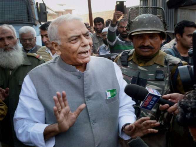 In picture: veteran leader Yashwant Sinha. PTI file photo.