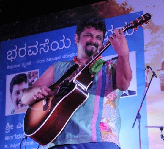 Playback Singer and Composer Raghu Dixit. (DH File Photo/B H Shivakumar)