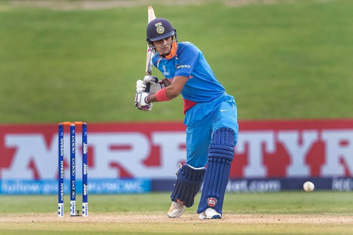 Shubman Gill's unbeaten 106 guided India C to a six-wicket win over India A in a Deodhar Trophy match in New Delhi on Thursday. PTI File Photo