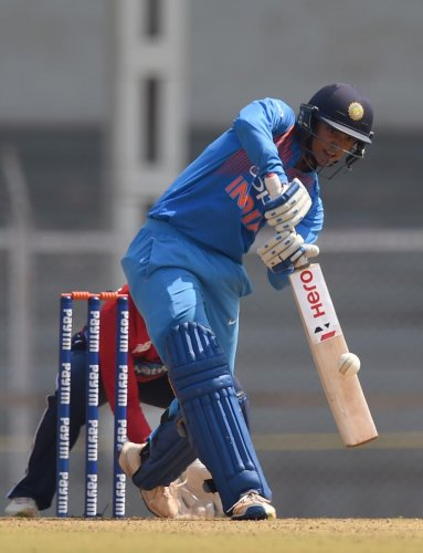 Indian star batsman Smriti Mandhana will be key to India's fortunes as they start their campaign against New Zealand in the Women's World T20 on Friday. AFP FILE PHOTO
