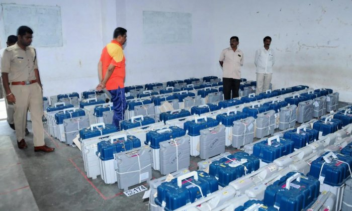 The machines to be used in the upcoming election are secure and do not have any fault, said Bhagat. PTI File photo.