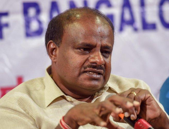 Karnataka Chief Minister HD Kumaraswamy. PTI File Photo