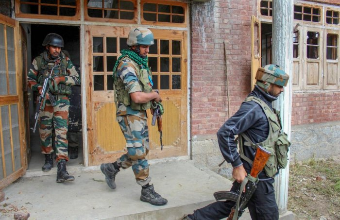 Following the attack, security forces along with the additional reinforcements launched searches in the area to nab the attackers.